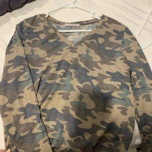 Marshalls Tops - Long sleeve camp shirt